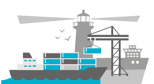 Marine transport and port operations